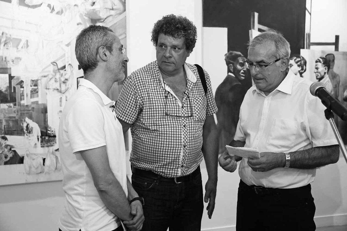 Philippe Marin, Jean-Marc Teillon, Daniel Breuiller