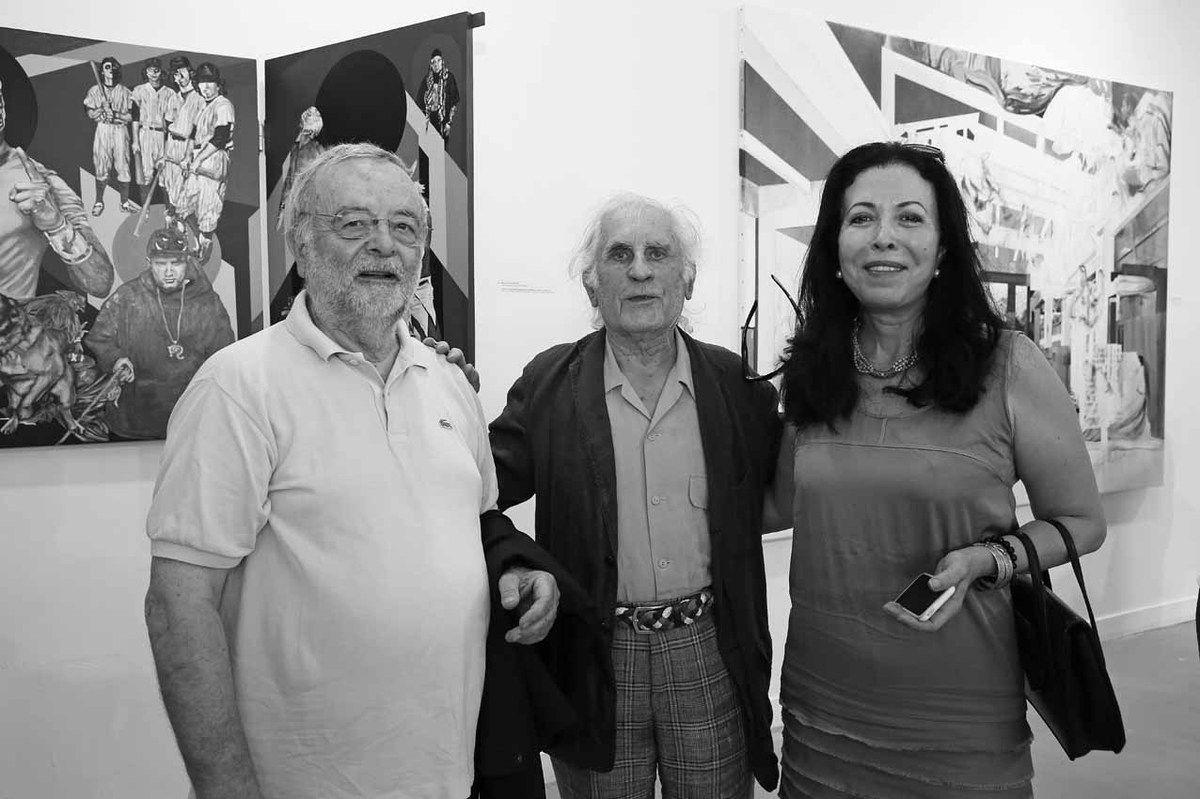 Claude Rutault, Bernard Rancillac, Djohar Rancillac