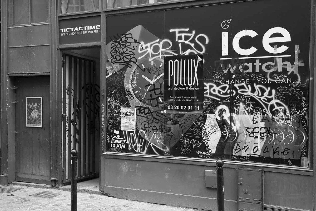 Affiche de l'exposition Hervé Di Rosa