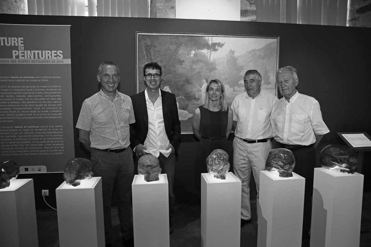 Bernard Combes, Denis Monfleur, Karine Lhomme, Yannik Seguin, Georges Mouly