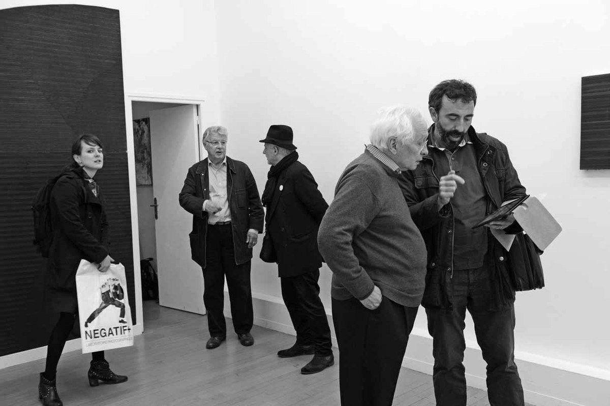 Inconnue, Jean-Michel Meurice, Joël Hubaut, Bernard Ceysson, Inconnu