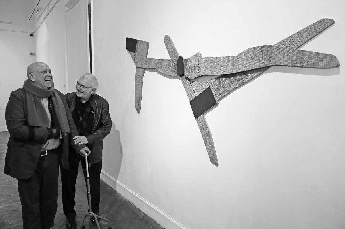 Hervé Télémaque & Baptiste Roux. Louviers