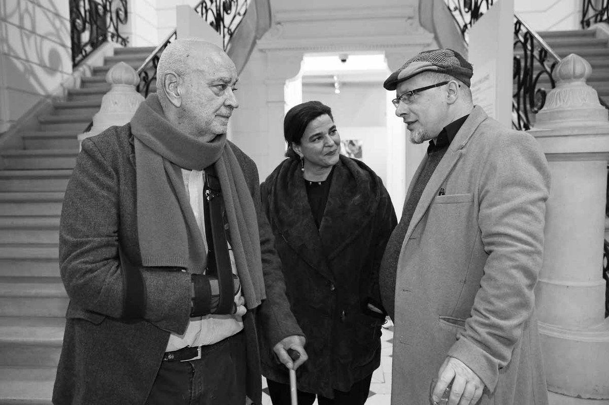 Hervé Télémaque, Elodie-Anne Télémaque, Baptiste Roux