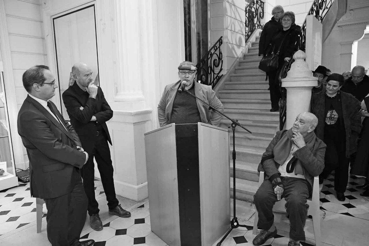 François-Xavier Priollaud, Michel Natier, Baptiste Roux, Hervé Télémaque, Elodie-Anne Télémaque