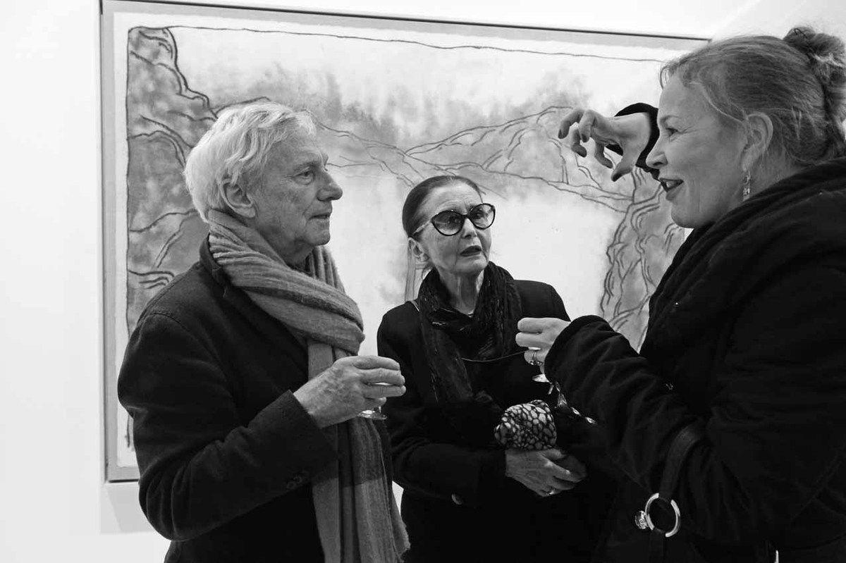 Vladimir Velickovic, Maristella Velickovic, Marie Binet