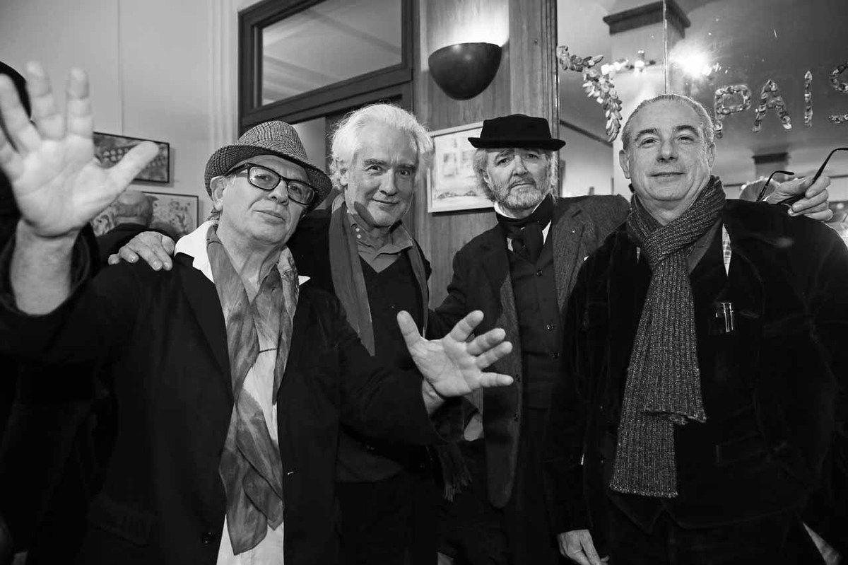 Ricardo Mosner, Alberto Bali, Ruben Alterio, Pablo Katz