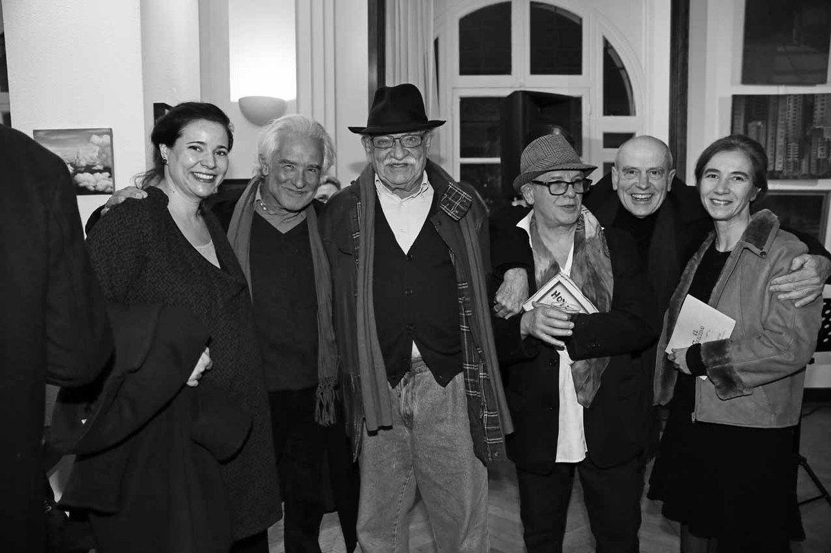 Brenda Hoffman, Alberto Bali, Antonio Segui, Ricardo Mosner, Pat Andrea, Clelia Taricco