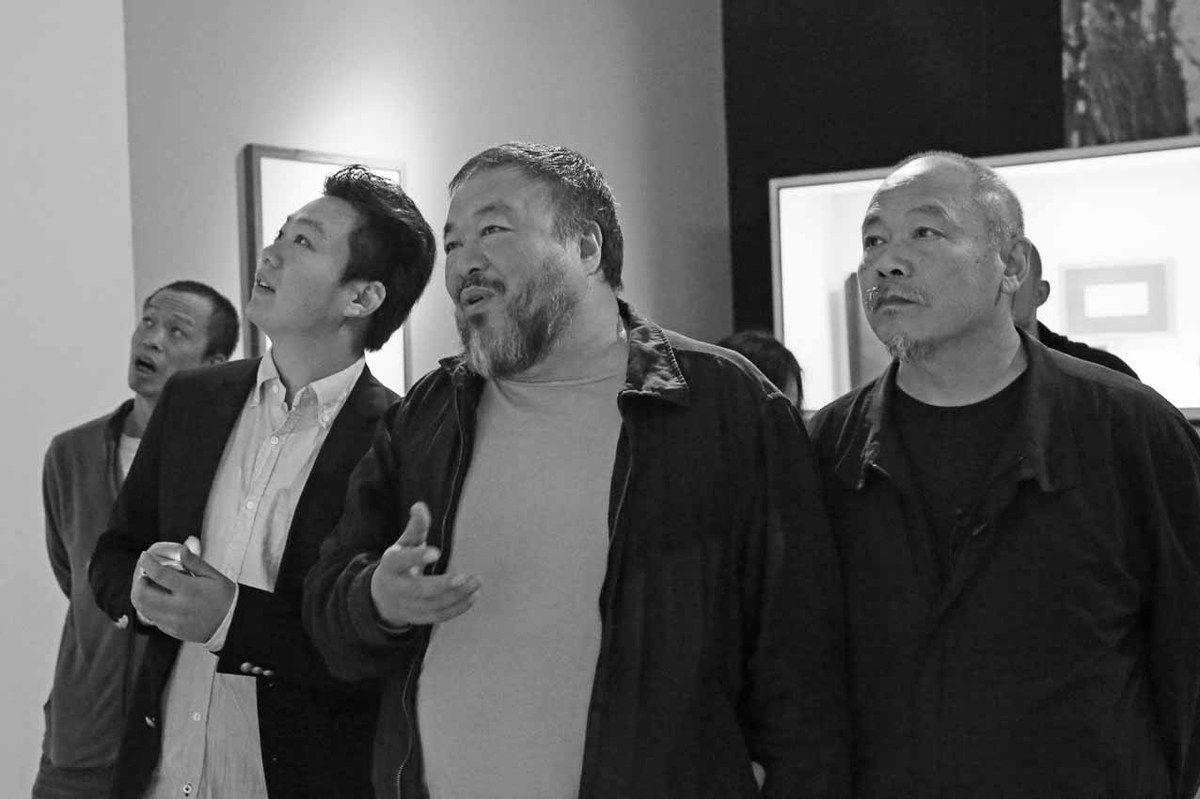 He Yunchang, Cui Cancan, Ai Weiwei, Wang Keping