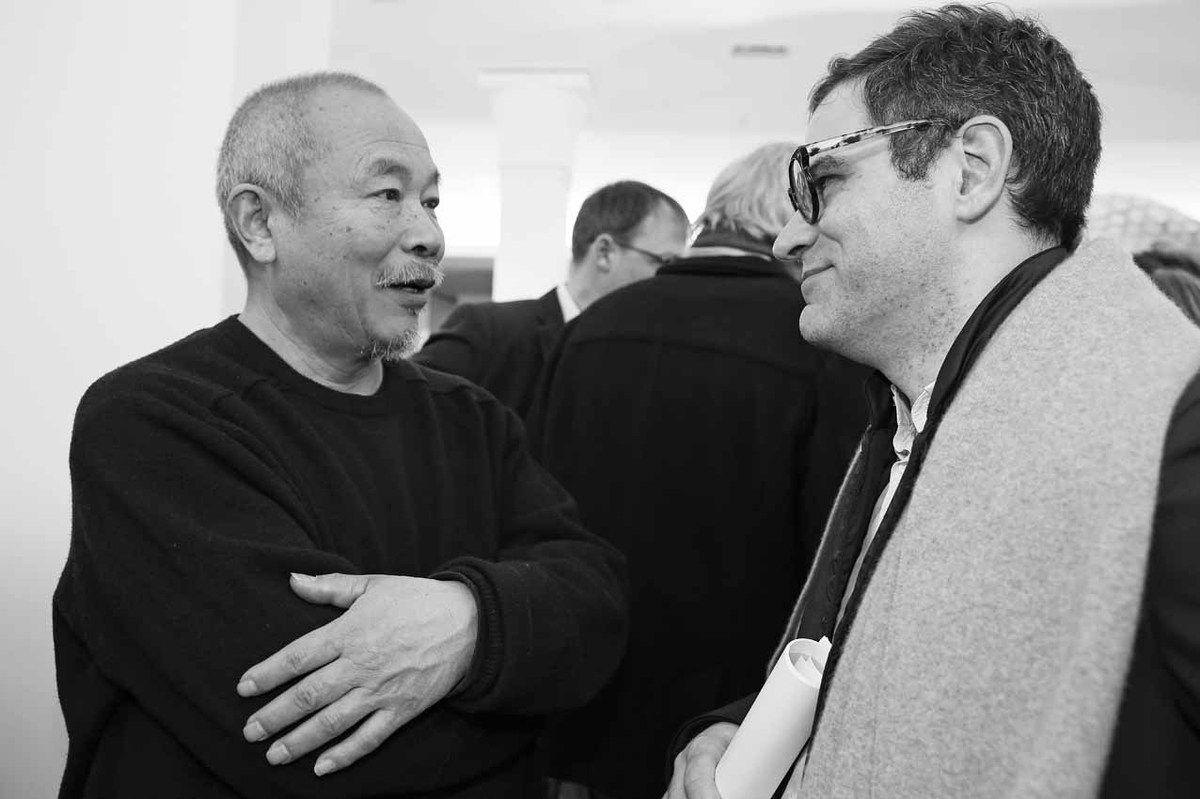 Wang Keping, Philip Tinari