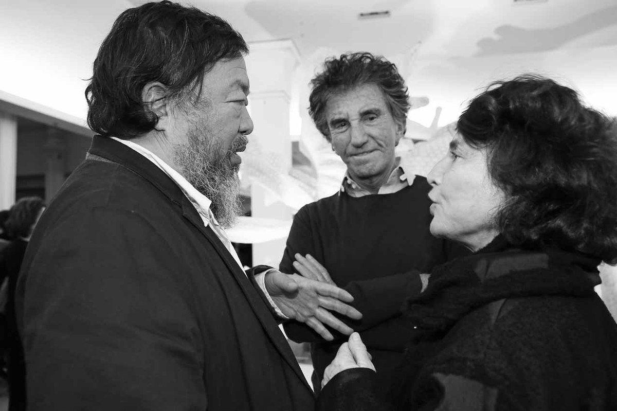 Ai Weiwei, Jack Lang, Monique Lang