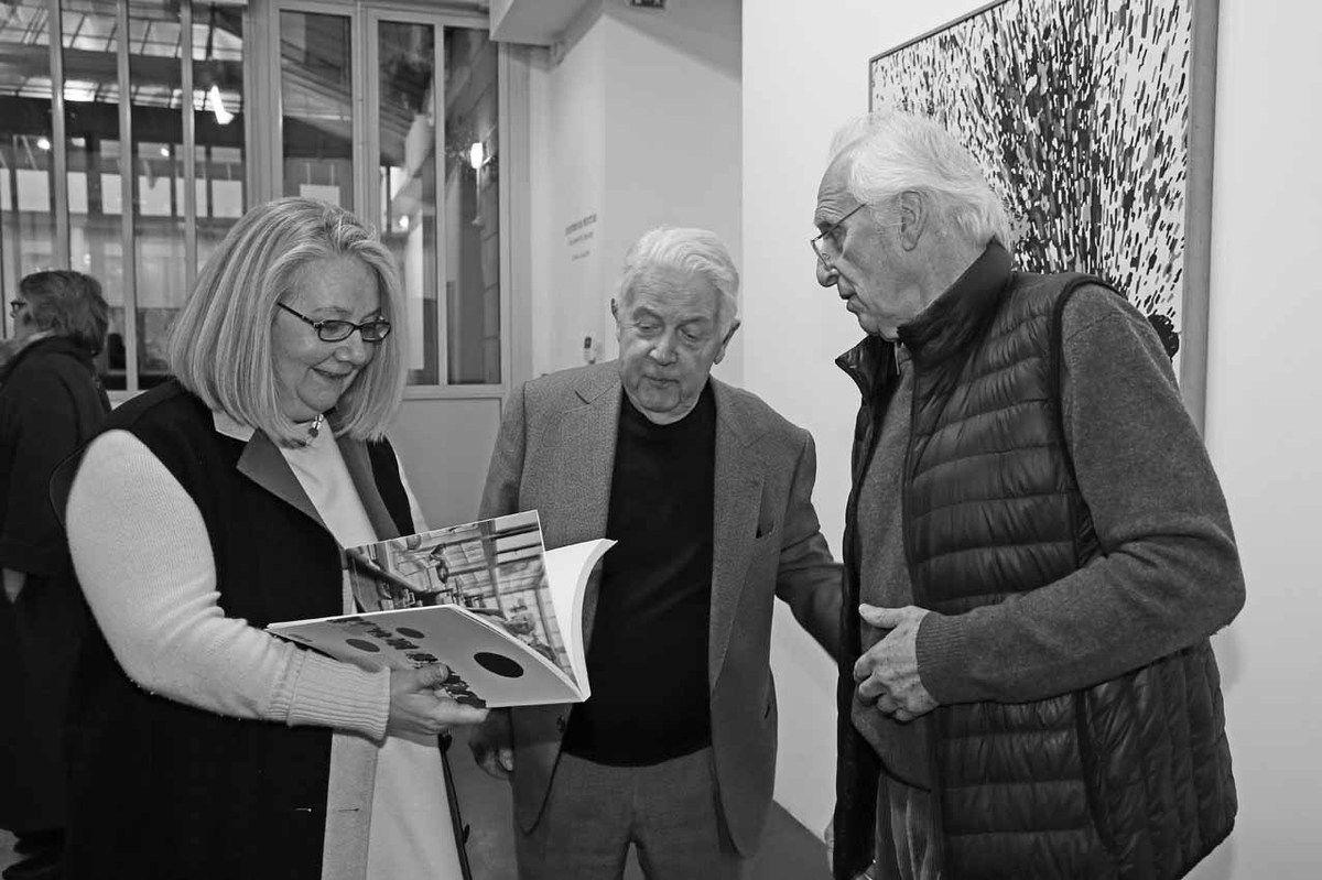 Véronique Jaeger, Jean-François Jaeger, Gérard Fromanger