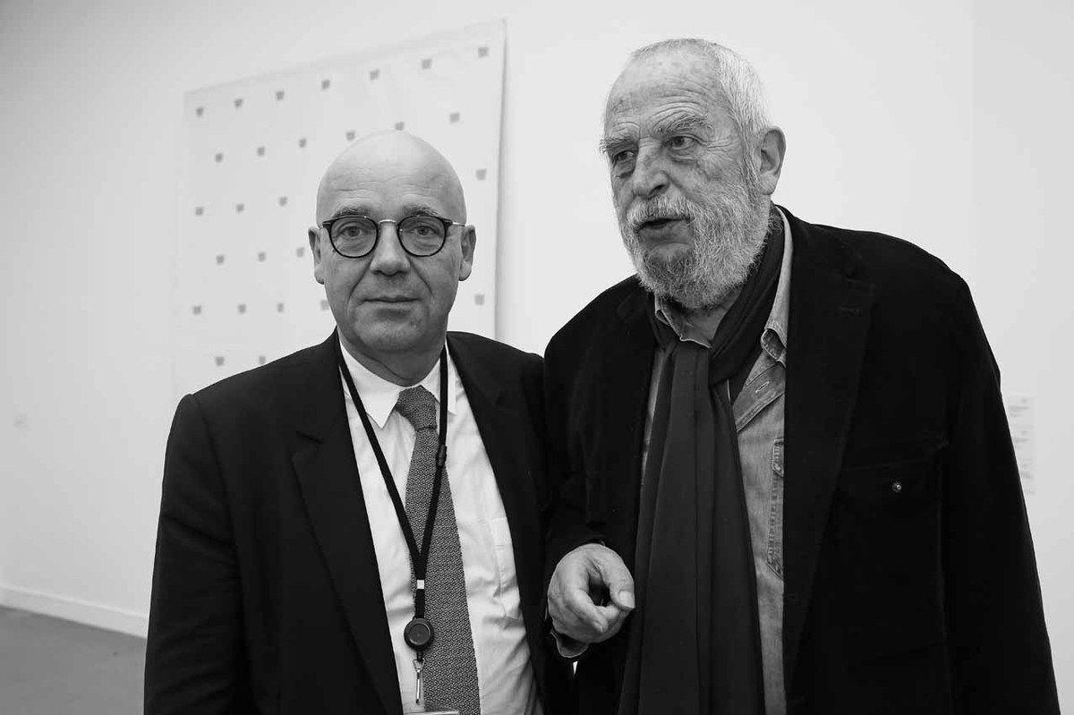 Fabrice Hergott, Niele Toroni