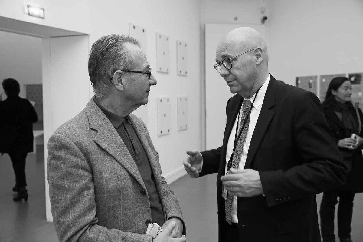 Jean-Hubert Martin, Fabrice Hergott