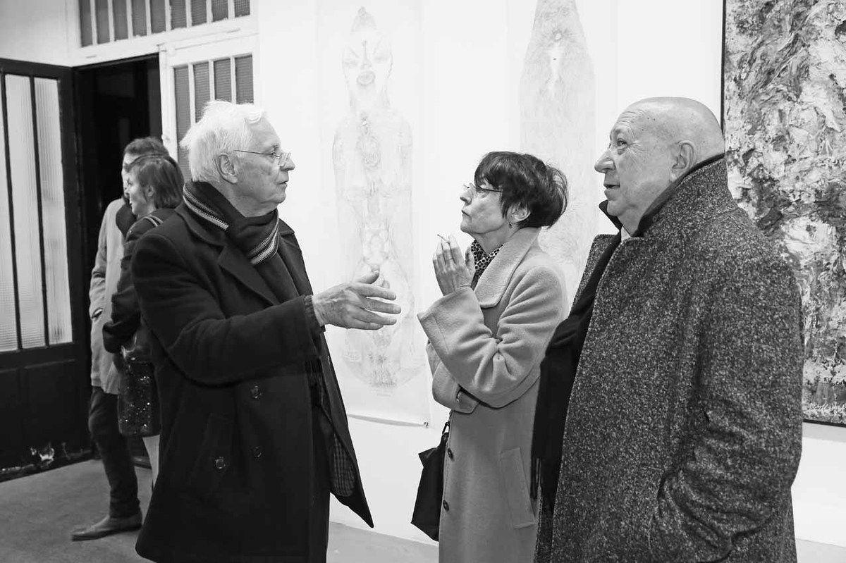 Jean Brolly, Annette Messager, Christian Boltanski
