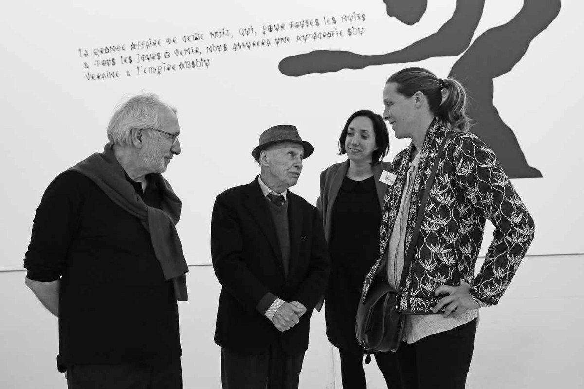 Philippe Piguet, Jacques Villeglé, Carine Roma-Clément, Marianne Le Métayer