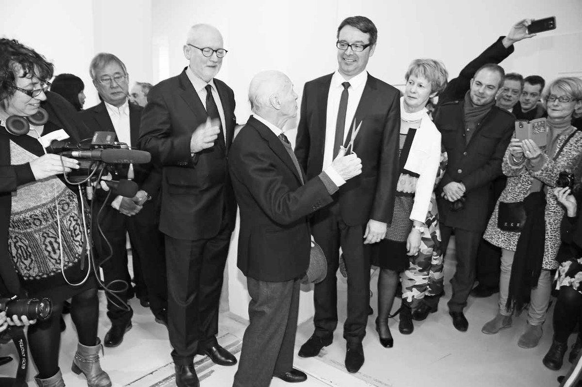 Lee Kang So, Lorand Hegyi, Jacques Villeglé, Robert Karulak, Martine Dancer-Mourès