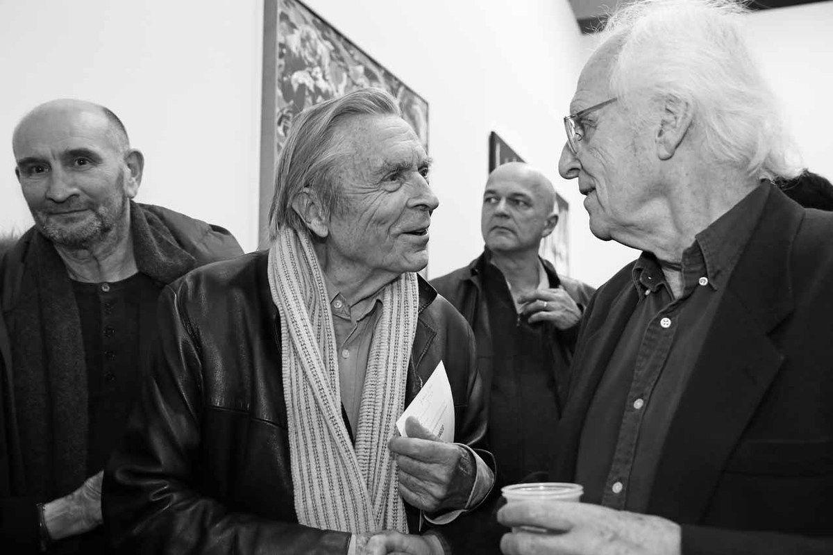 Henri-François Debailleux, Jean-Pierre Faye, Inconnu, Gérard Fromanger