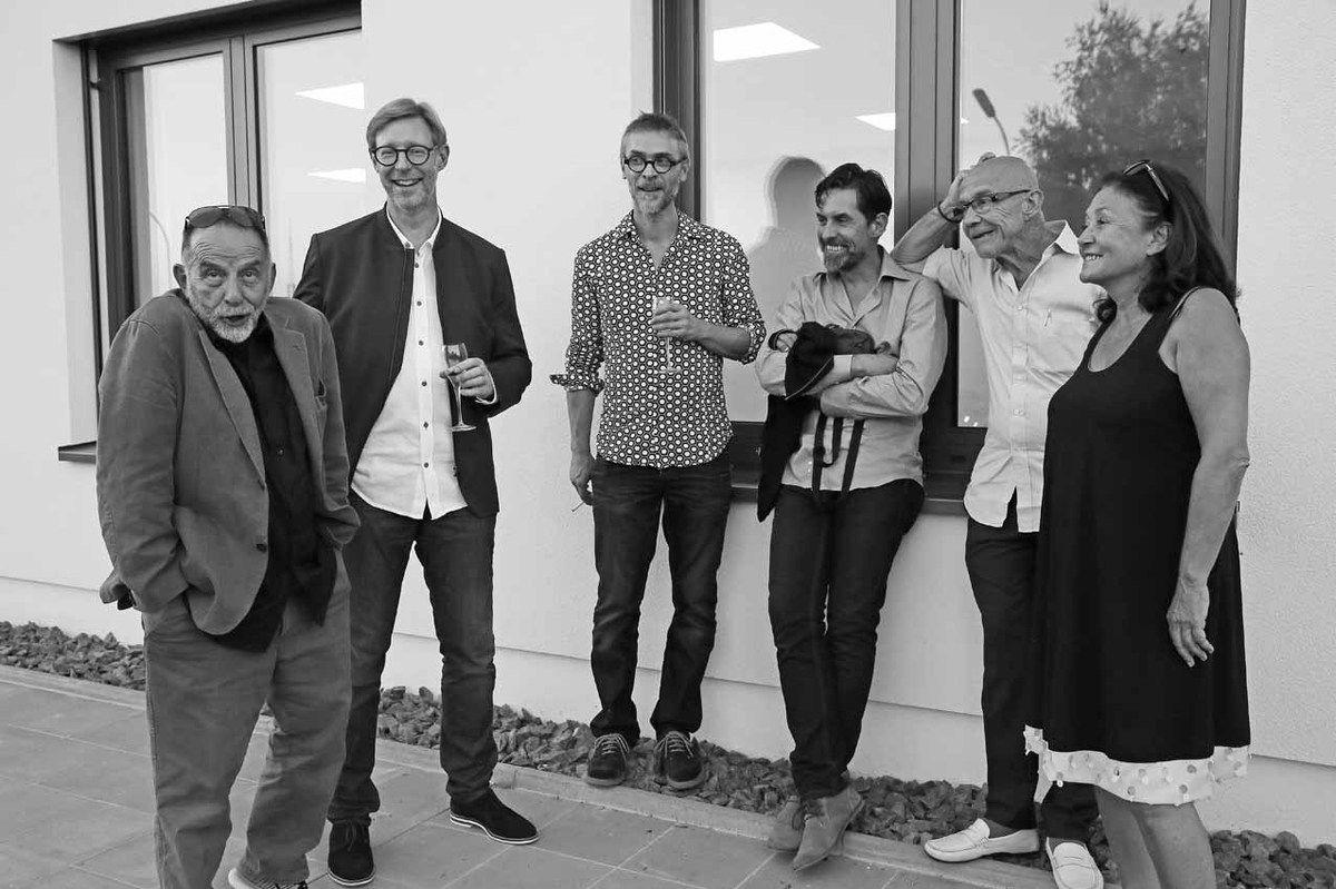 Noël Dolla, Guillaume Nogacki, Rémy Jacquier, Franck Chalendard, François Fauchon, Brigitte Ferrari