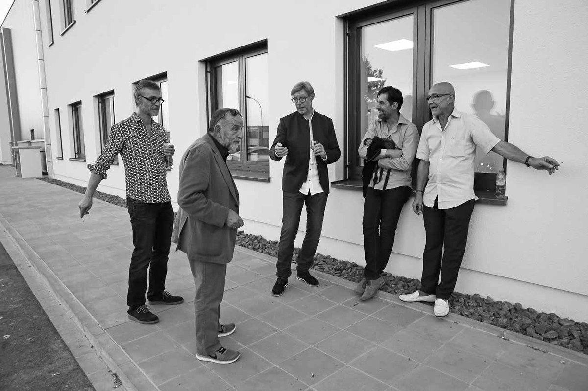 Rémy Jacquier, Noël Dolla, Guillaume Nogacki, Franck Chalendard, François Fauchon