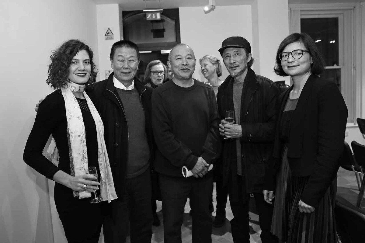 Dagmar Carnevale Lavezzoli, Qu Lei Lei, Wang Keping, Ma Jian, Aline Wang