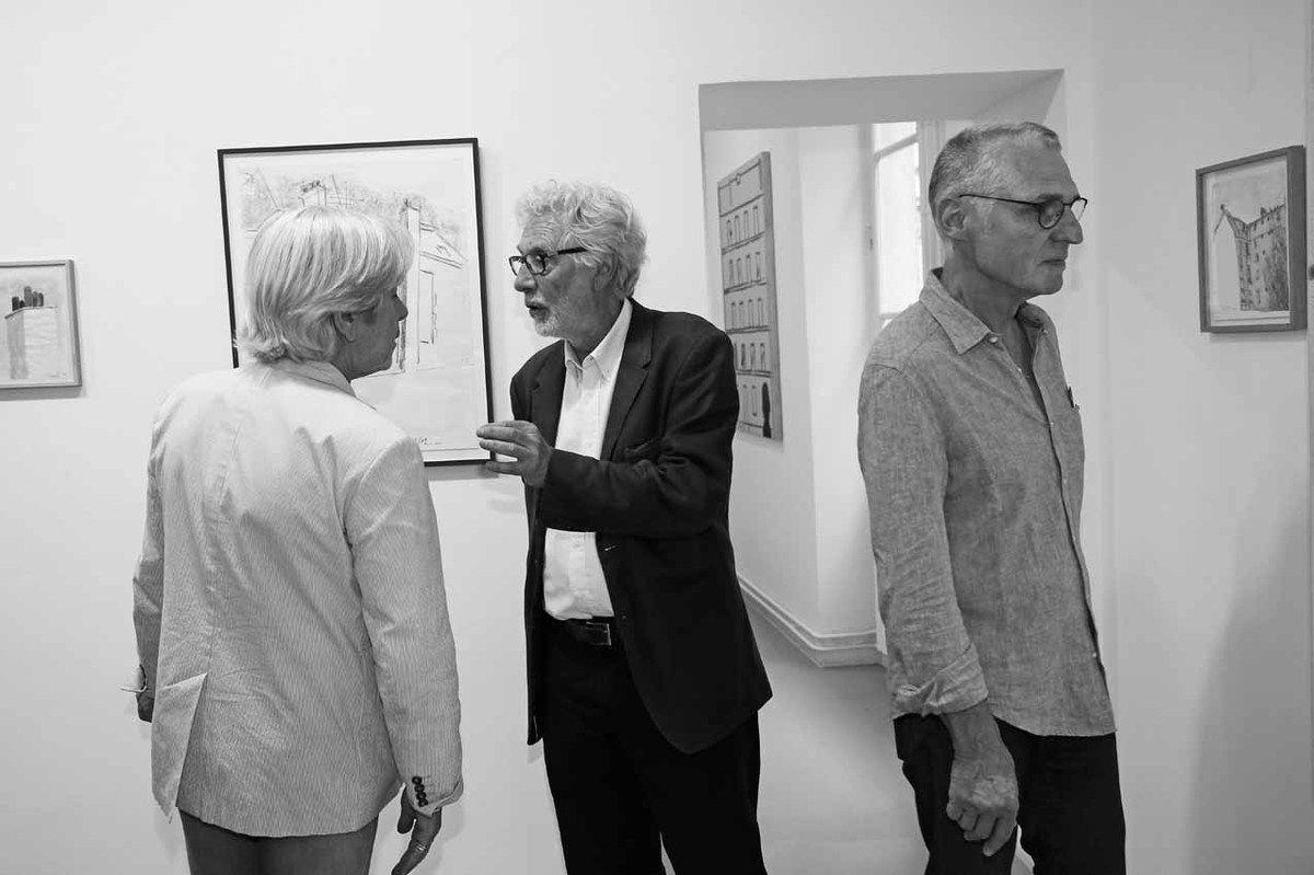 Dominique Païni, Pierre Buraglio, Gilgian Gelzer