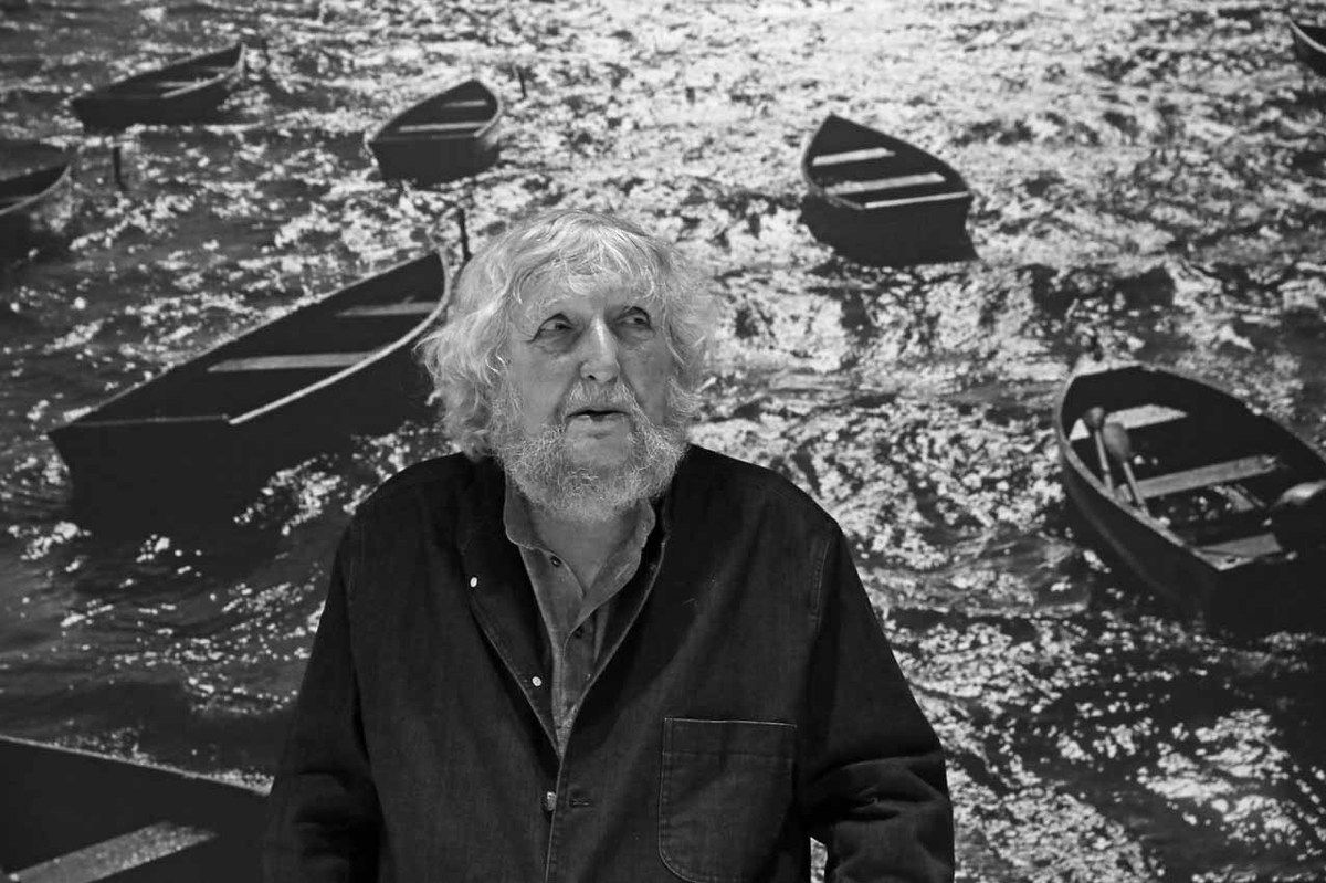 Louis Stettner (1922-2016). Vernissage de l'exposition Louis Stettner. Galerie de Photographies. Centre Georges Pompidou. Paris le 14 juin 2016