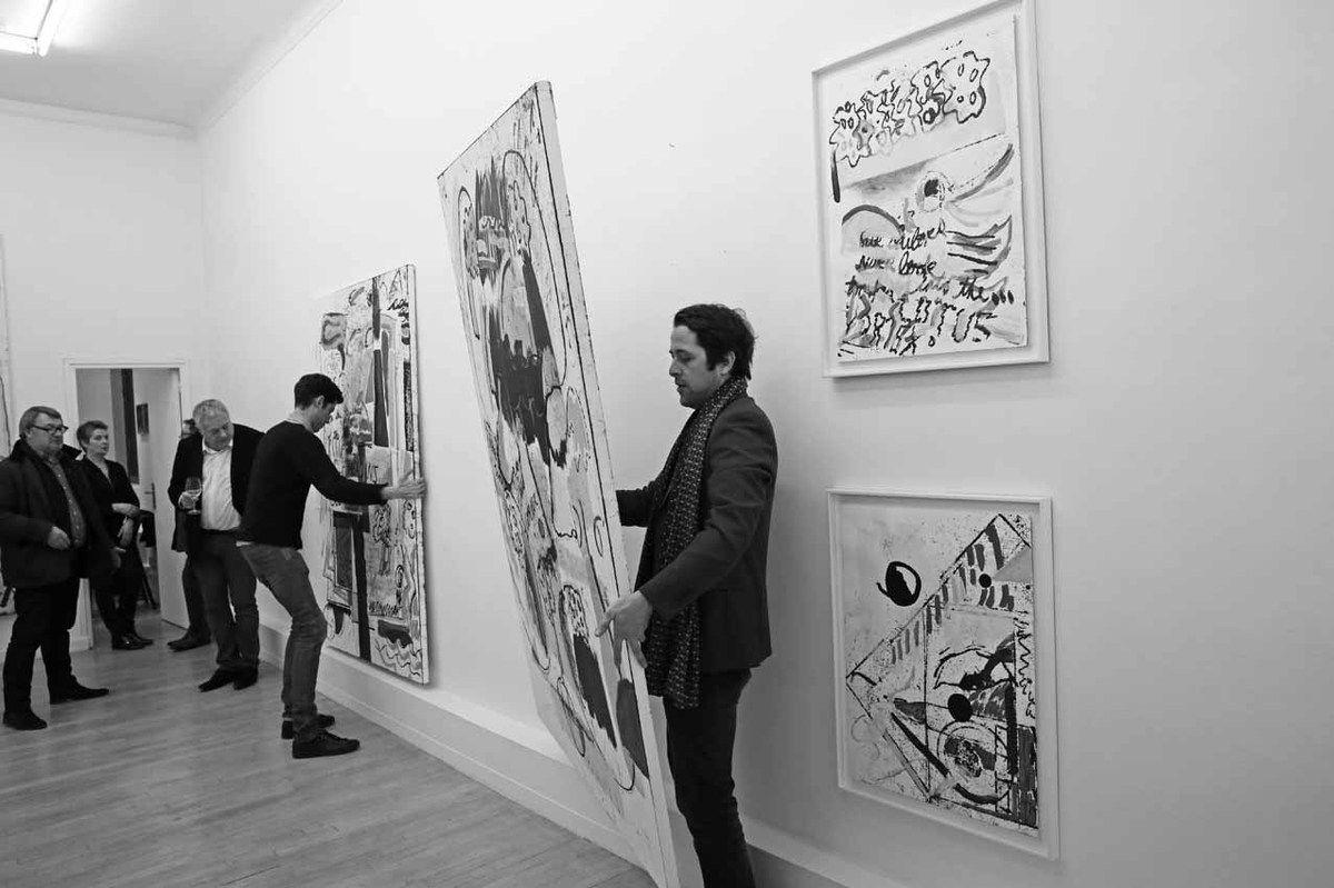 Eric Proust, Françoise Proust, Michel Foudriat, Maxime Amorin, Loïc Bénétière
