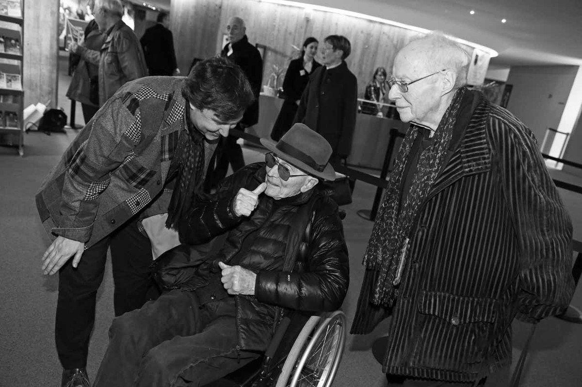 Renaud Faroux, Jacques Monory, Gilbert Lascault
