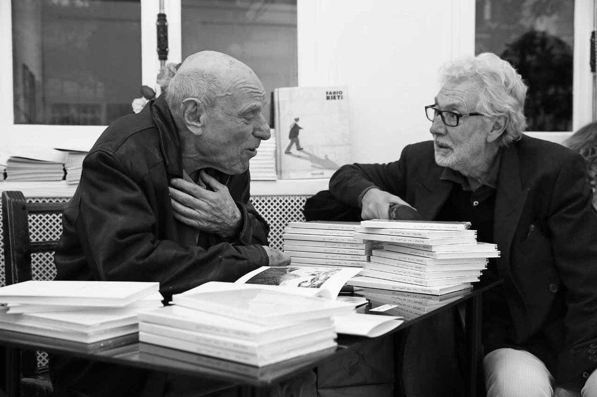 Fabio Rieti, Pierre Buraglio