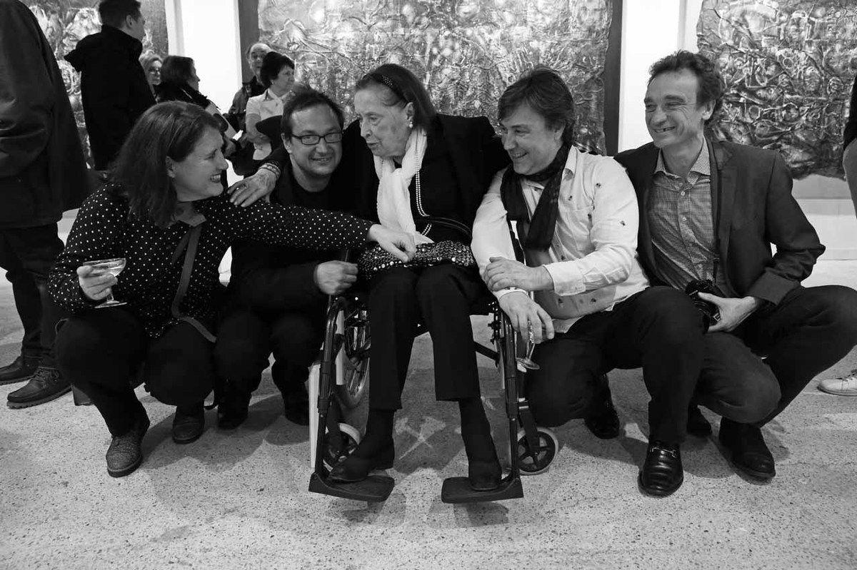 Uli Meisenheimer, Numa Hambursin, Malou Kijno, Renaud Faroux, Eric Morin