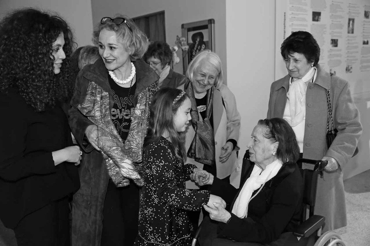Myriam Hachimi-Alaoui, Anne-Laurence Faroux, Annabel-Lee Faroux, Blanche Faroux, Malou Kijno, Maria Antunes