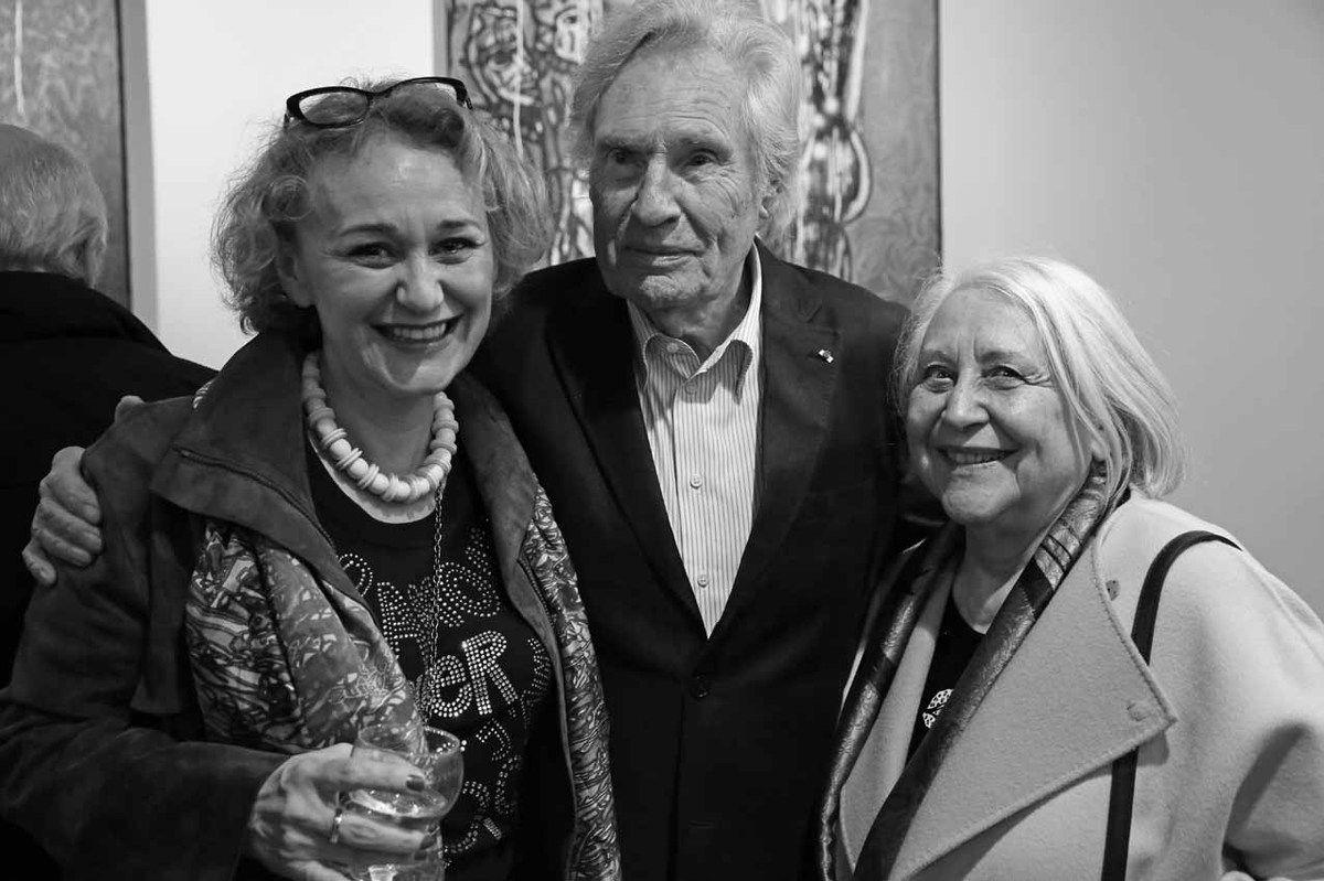 Anne-Laurence Faroux, Peter Klasen, Blanche Faroux