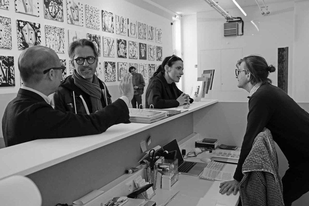 Sherman Sam, Nico Steinmetz, Tom Giampieri, Séverine Zimmer, Loïc Garrier