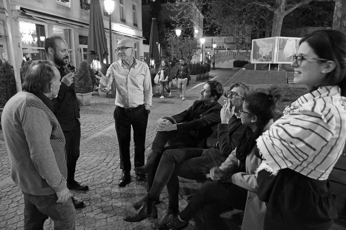 Noël Dolla, Zine El Abidine Ramdani, François Fauchon, Loïc Bénétière, Loïc Garrier, Maëlle Ebelle, Elsa Pereira