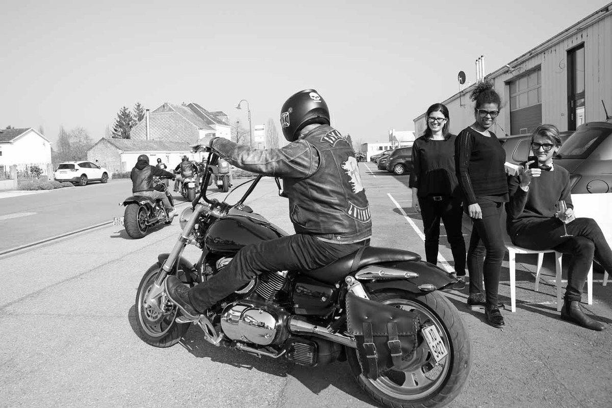 Bikers, Elsa Pereira, Maëlle Ebelle, Loïc Garrier