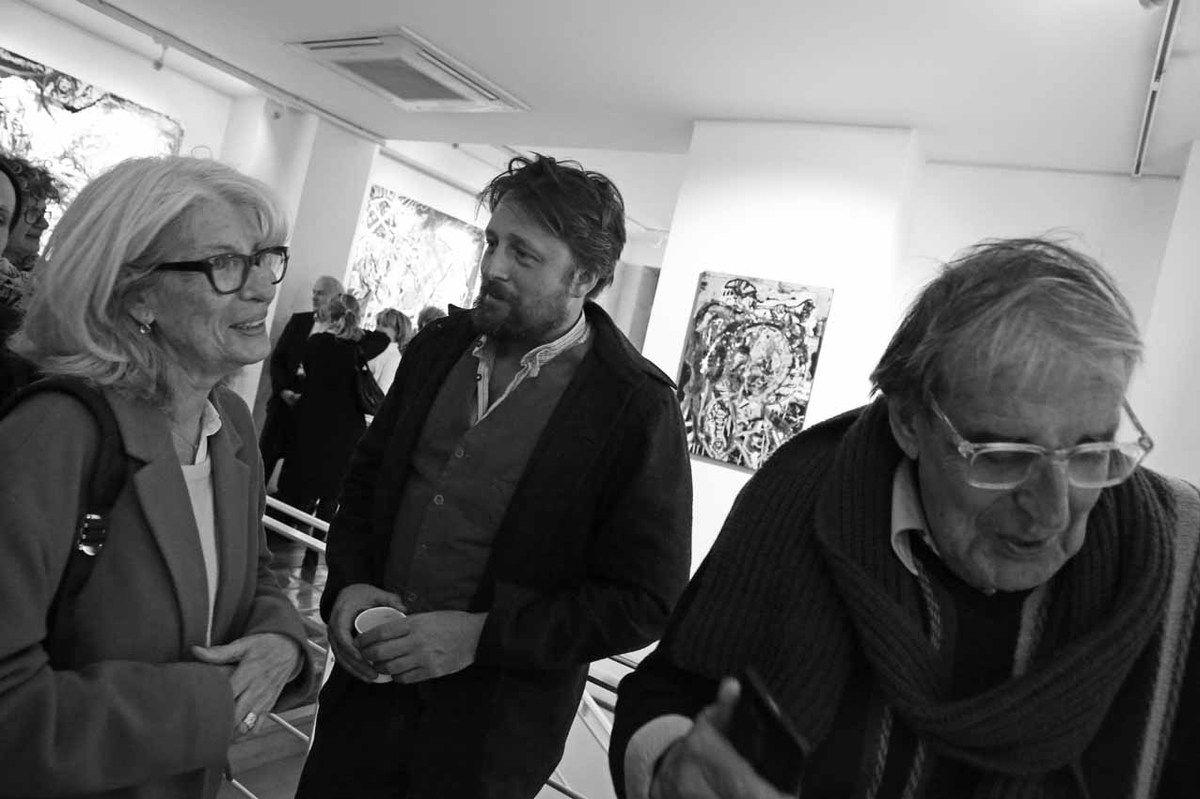 Françoise Sberro, Orlando Mostyn-Owen, Bernard Sberro