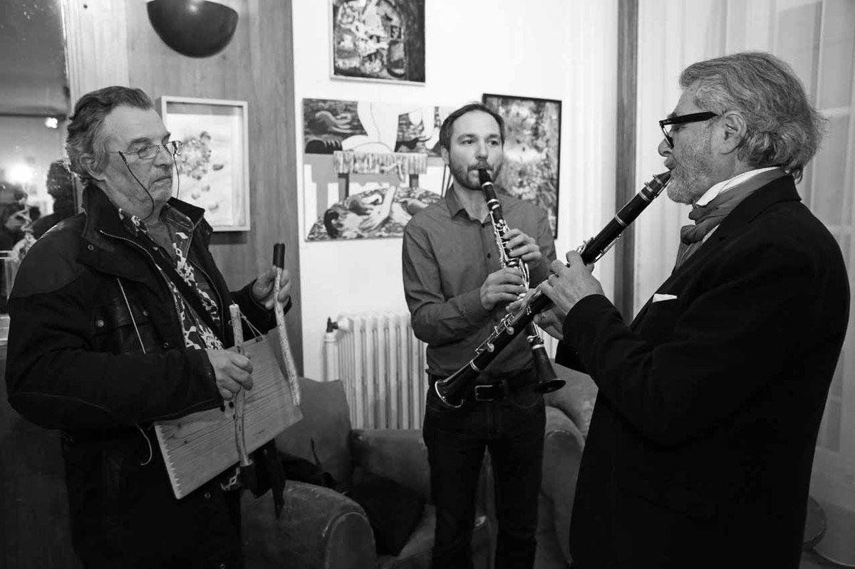 Jean-Pierre Chaty, Mariano Zemborain, Ruben Alterio