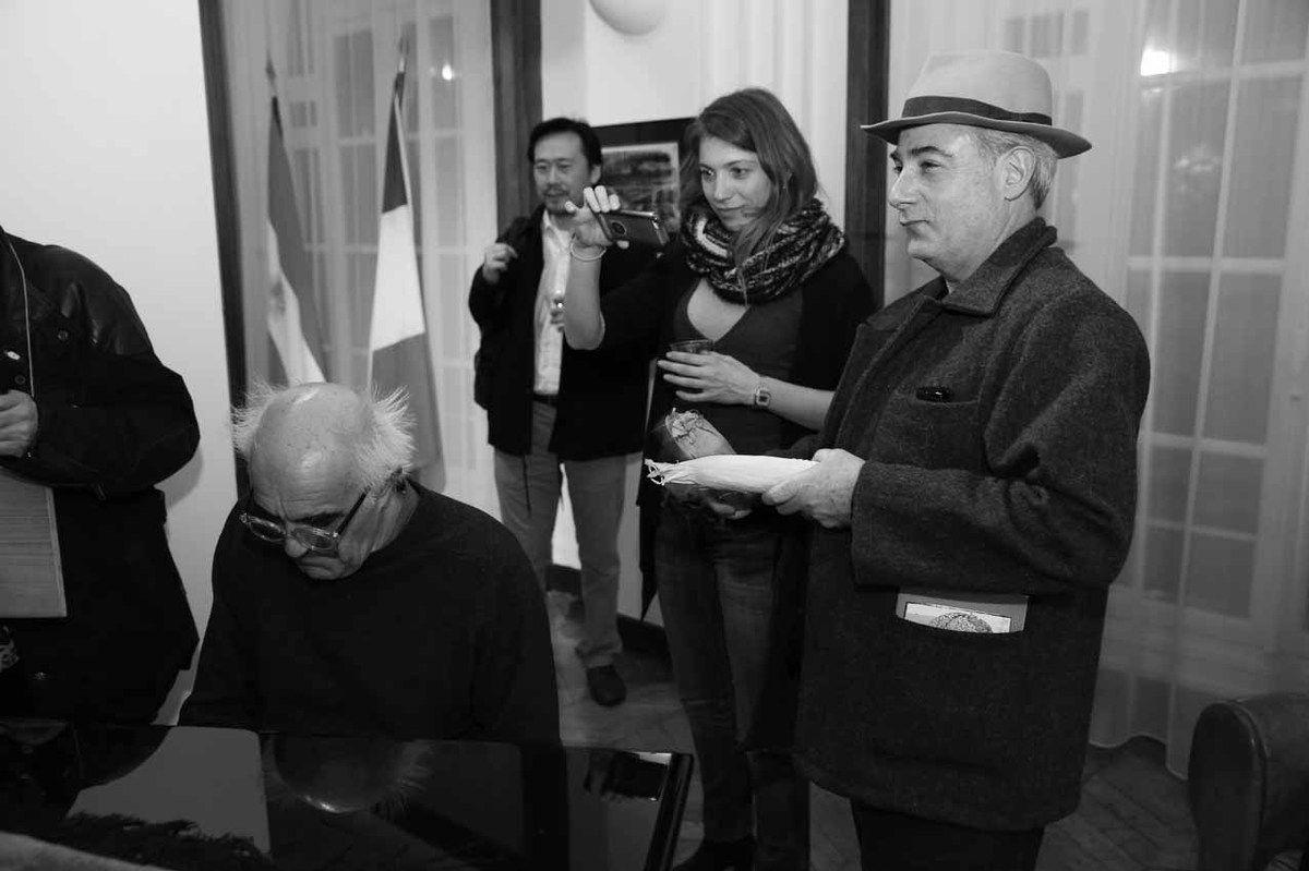 Rodolfo Natale, Inconnu, Belén Roncoroni, Pablo Katz