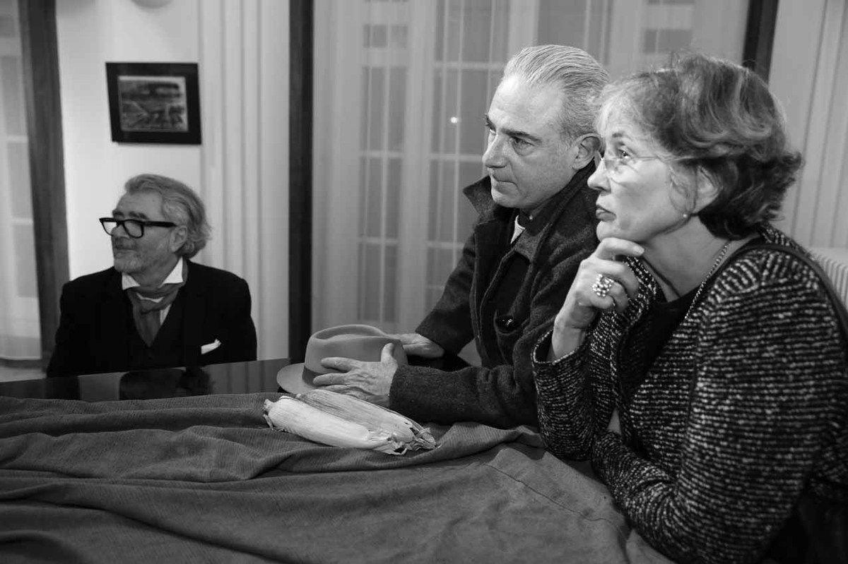 Ruben Alterio, Pablo Katz, Cristina Ruiz Guinazu