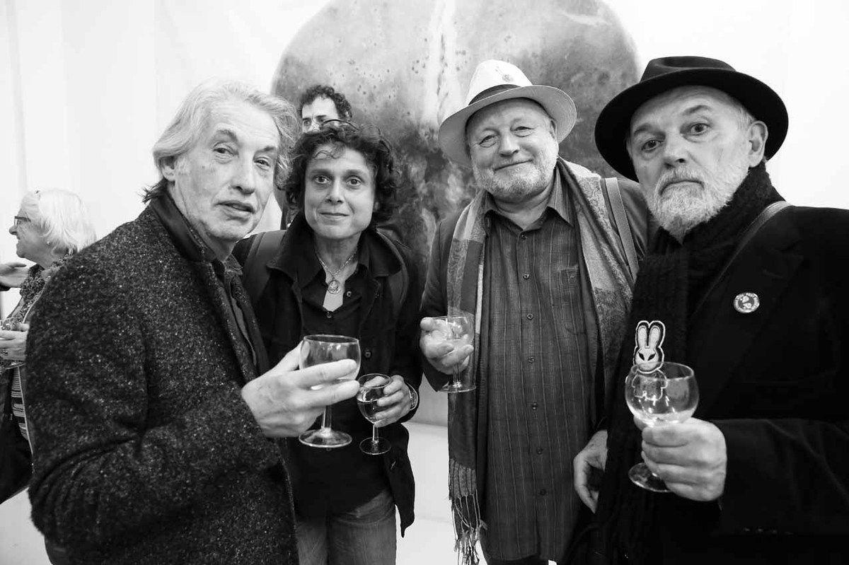 Arnaud Labelle-Rojoux, Sylvie Hennequart, Jacques Halbert, Joël Hubaut