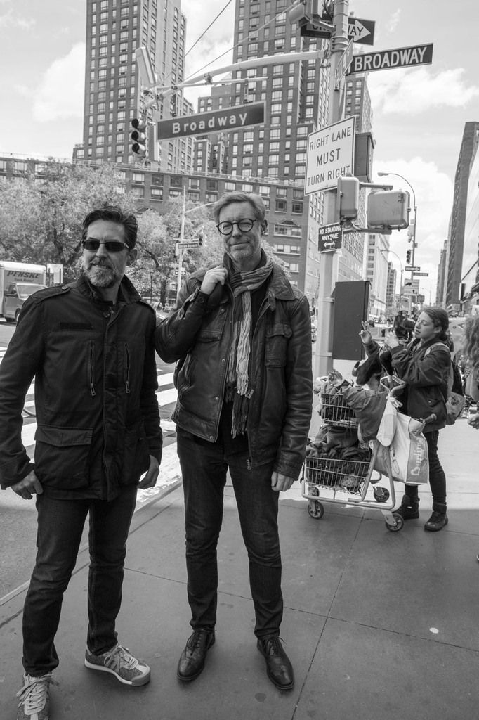 Franck Chalendard, Guillaume Nogacki. Union Square, Manhattan. New York le 8 mai 2017