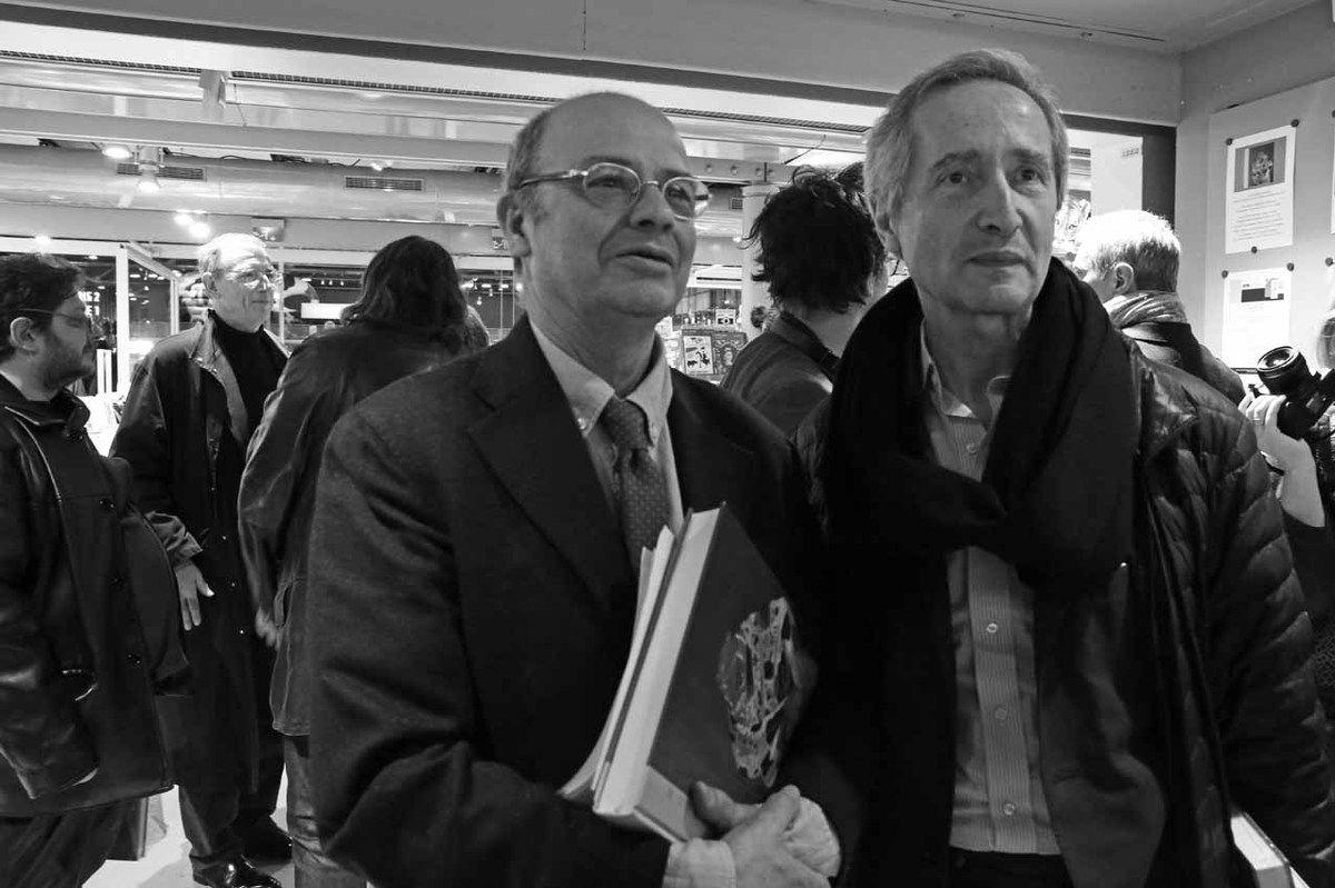Philippe Bonan, Michel Buono, Jean-Paul Ameline, Bernard Blistène