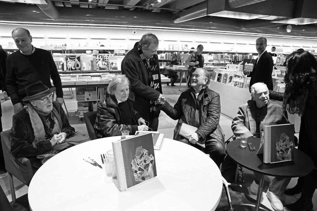 Jean-Claude Gandur, Jan Voss, Peter Stampfli, Bernard Vasseur, Erro, Eric Ghysels, Gérard Schlosser