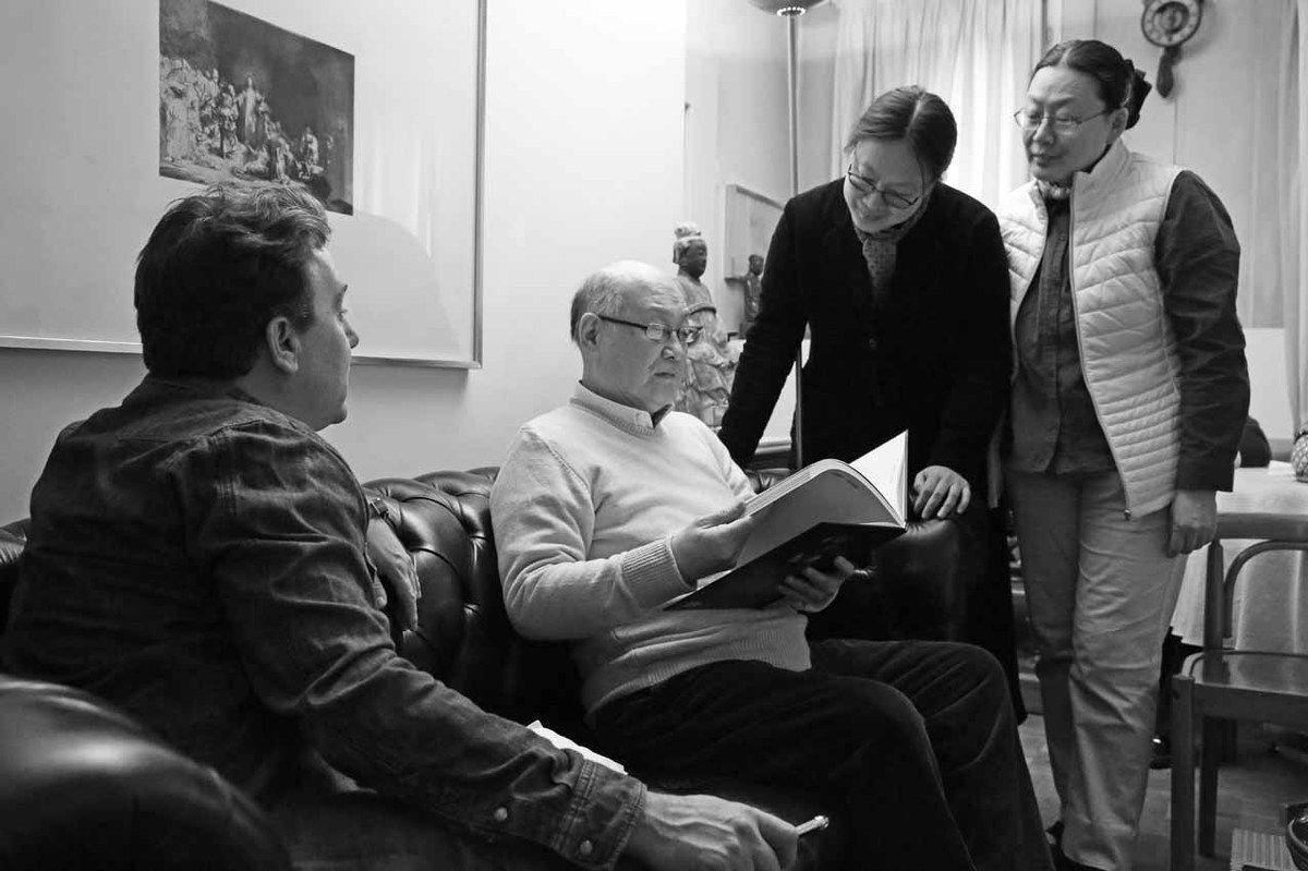 Renaud Faroux, Peng Wan Ts, Peng Chang Ming, Peng Chang Li