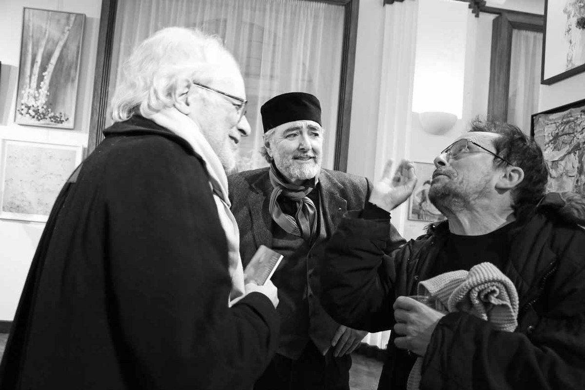 Alberto Bali, Ruben Alterio, José Cuneo