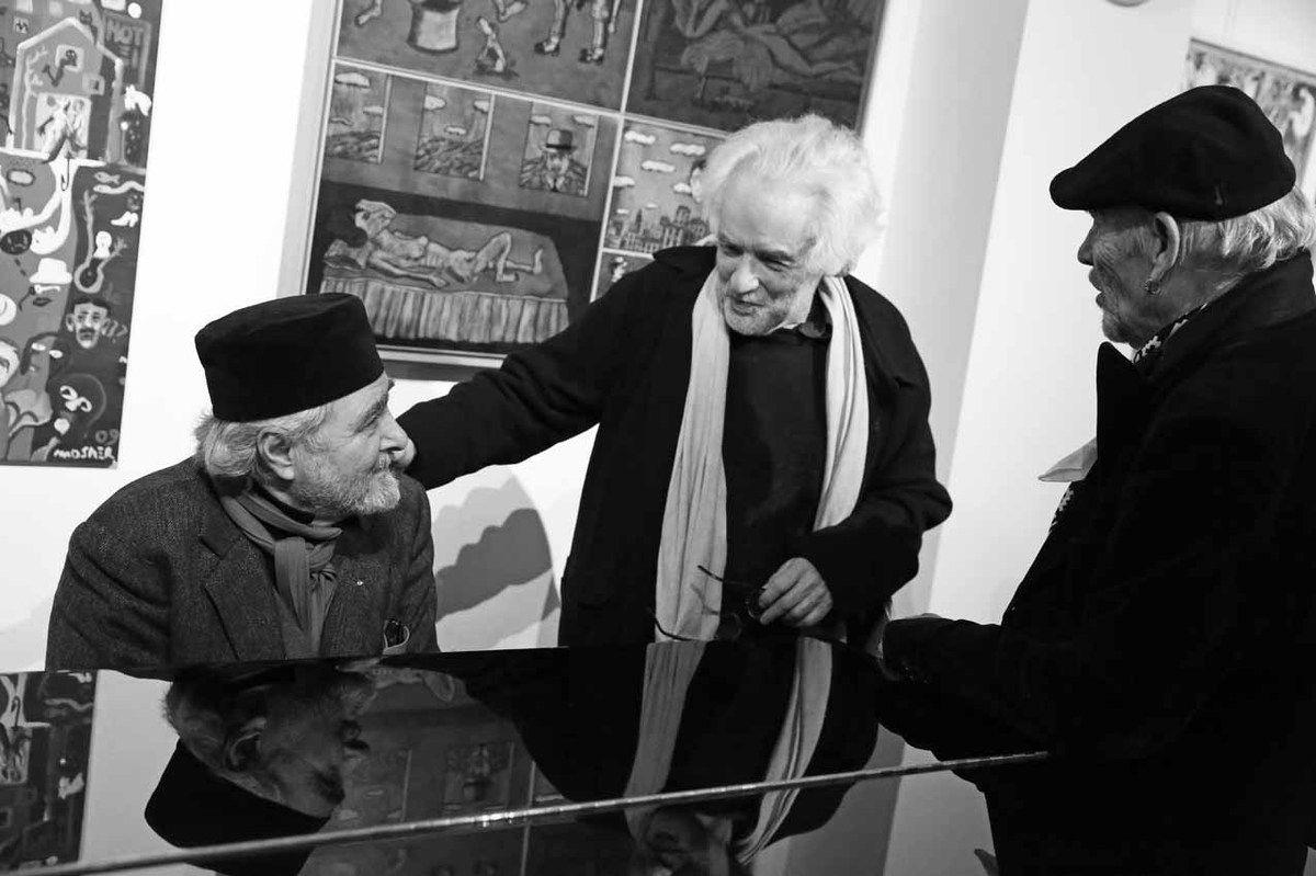 Ruben Alterio, Alberto Bali, Roberto Platé