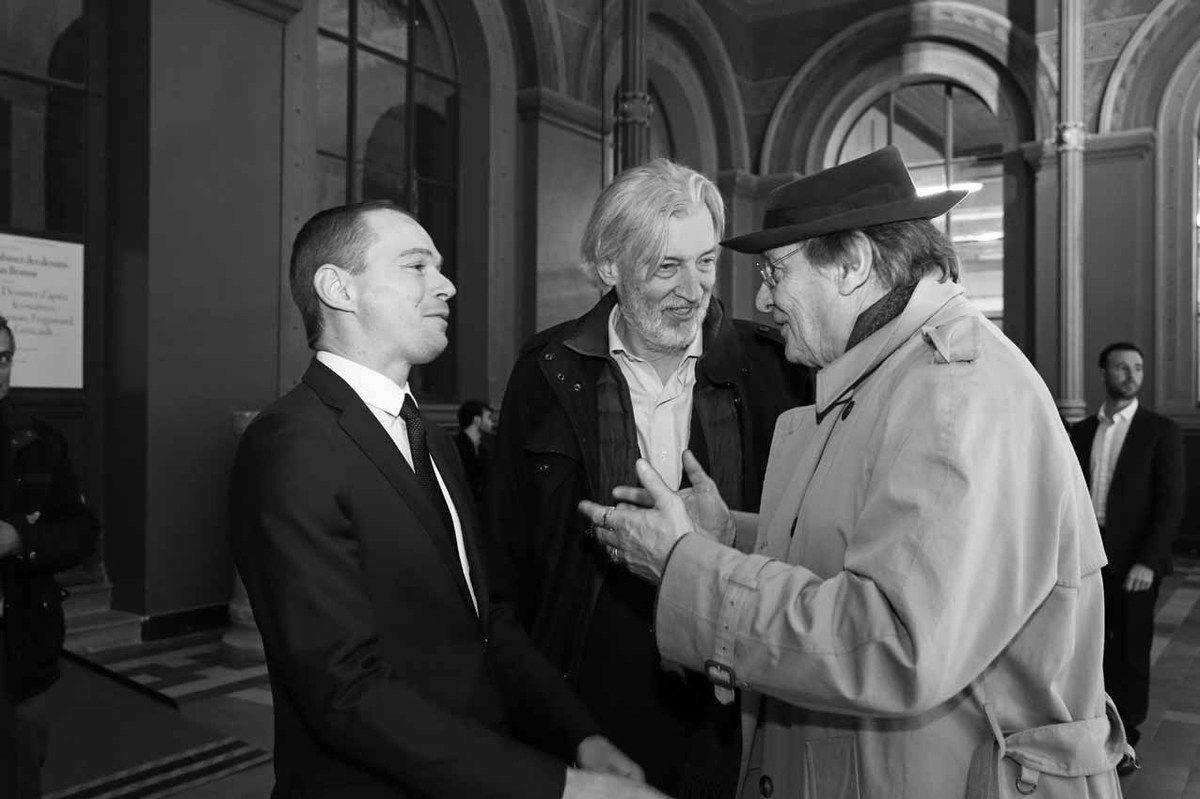 Inconnu, Jean-Marc Bustamante, Gérard Garouste