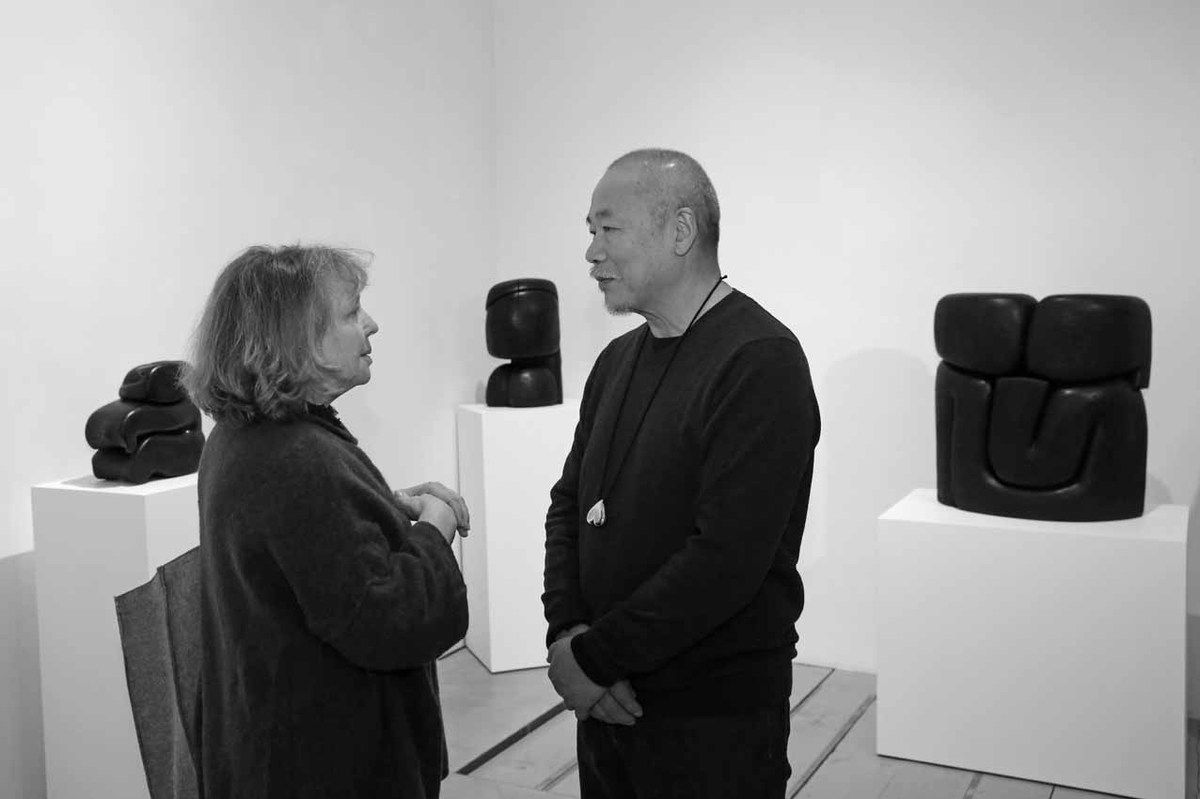 Christine Vial Kayser, Wang Keping