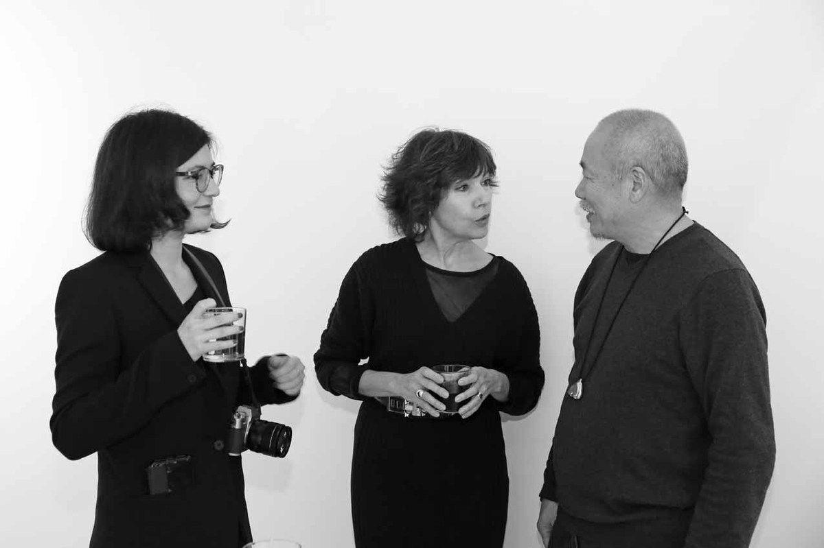 Aline Wang, Nathalie Obadia, Wang Keping