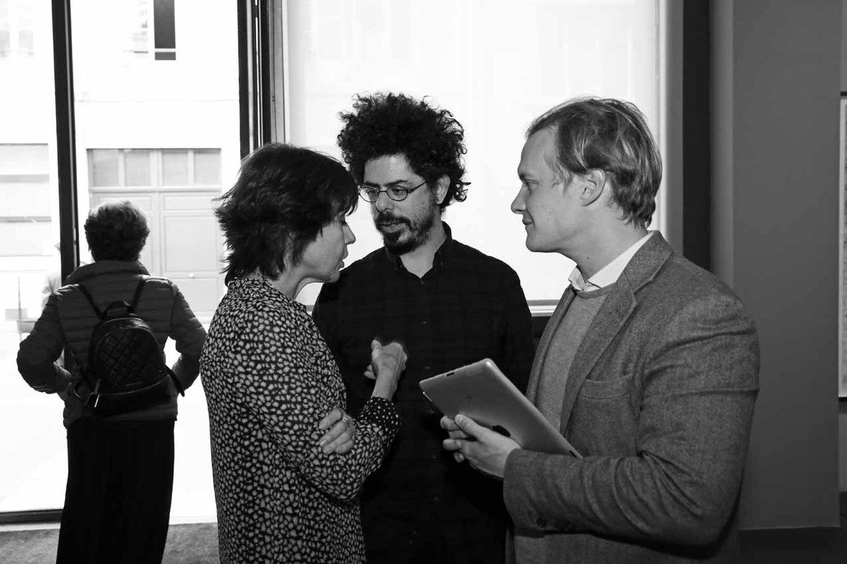 Nathalie Obadia, Jérôme Zonder, Adrien de Rochebouët